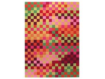 Kinderteppich Pixel in Bunt