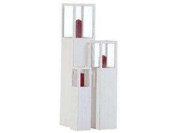 3-tlg. Laternen-Set aus Holz