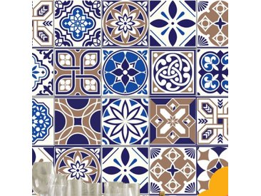 15 cm x 15 cm PVC Mosaikfliesen Selbstklebend