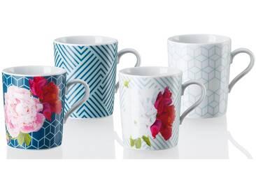 4-tlg. Kaffebecher-Set Tric Vivid Bloom