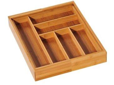 Besteckkasten - ausziehbar, aus Bambus