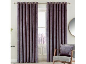 Vorhang-Set Escala mit Ösen, blickdicht