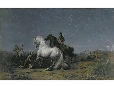Der Pferdedieb von Eugène Delacroix