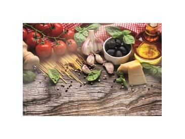 Glasbild Italian Buffet