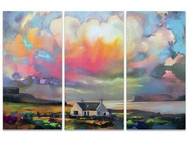 3-tlg. Leinwandbilder-Set Duirinish Skye von Scott Naismith
