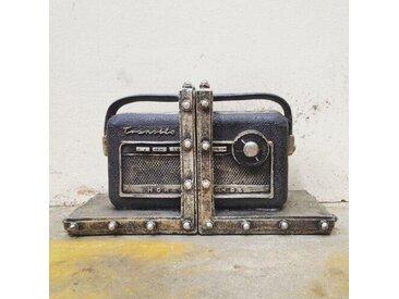 Buchstütze Vintage Normende Radio