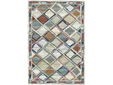 Teppich Berber in Grau/Creme