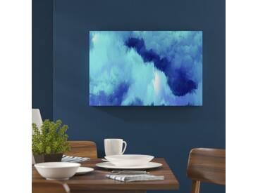 """Leinwandbild """"Vivanti Blue von Artana, Kunstdruck"""
