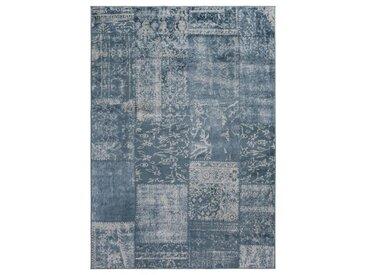 Kelim-Teppich Famos in Blau