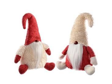 2-tlg.Dekorationsfiguren-Set Weihnachtsmann Gonk
