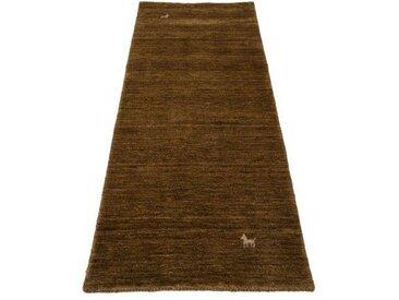 Handgefertigter Teppich Gabbeh Supreme in Braun