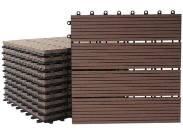 30 cm x 30 cm Mosaikfliesen-Set aus WPC Wattripont