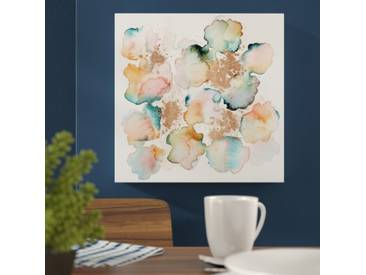 Leinwandbild Rose Gold Garden von Artana