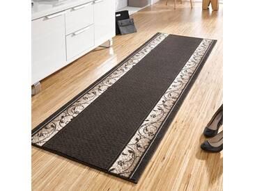 Teppich Basic in Dunkelbraun