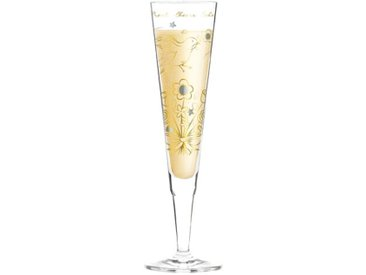 200 ml Champagnerglas Champus mit Serviette
