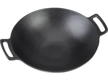 36,5 cm Wok aus Gusseisen
