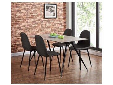 Essgruppe La Gomera mit 4 Stühlen
