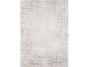 Flachgewebe-Teppich Greenville aus Schaffell in Beige