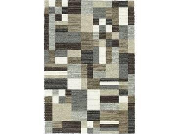 Teppich Berber in Grau/Braun