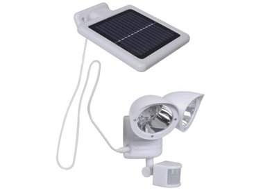 LED-Außenstrahler 2-flammig mit Bewegungssensor