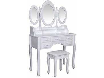 Schminktisch-Set mit Spiegel Chaim