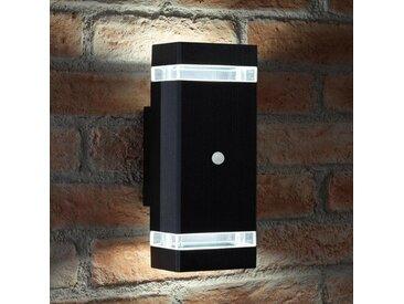 LED-Außenwandleuchter Garrow mit Bewegungssensor