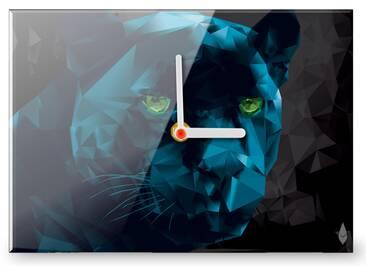 Wanduhr Polygon Panther
