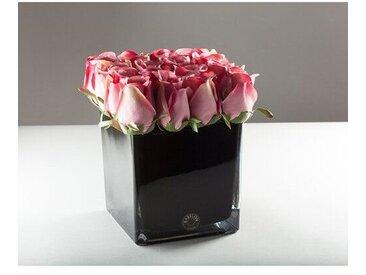 Kunstblume Rosen in Vase