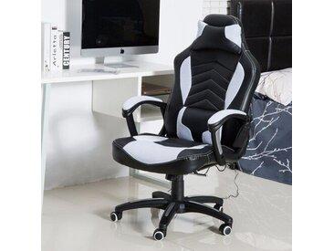 Gaming-Stuhl Willebroek mit Wärme und Massagefunktion