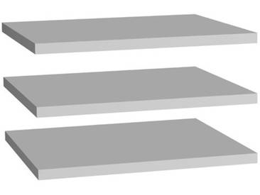 82,9 cm Regale-Set Josef