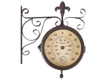 Uhr und Thermometer Orrie
