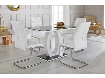 Essgruppe Kamryn mit 4 Stühlen