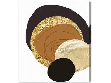 "Leinwandbild ""Golden Thoughts von Artana, Grafikdruck"