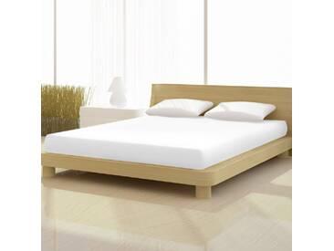 Spannbetttuch de Luxe aus Baumwollmischgewebe