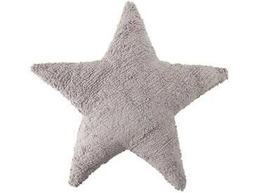 Zierkissen Stern aus 100% Baumwolle