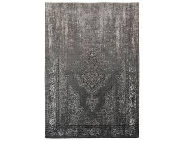 Flachgewebe-Teppich Fading World in Grau