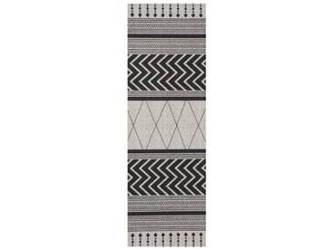 Teppich Novo in Grau/Schwarz
