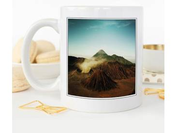 Kaffeetasse Landscape Volcano Iceland
