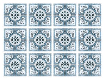 15 cm x 15 cm Selbstklebendes Mosaikfliesen-Set Selma aus PVC