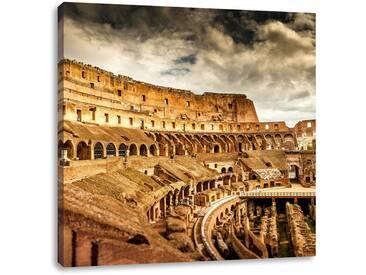 LeinwandbildKolosseum in Rom von innen