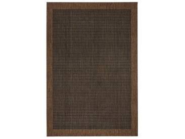 Teppich Natural in Dunkelbraun