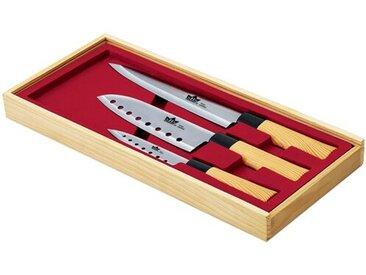 3-tlg. Messerset Nara mit Aufbewahrung
