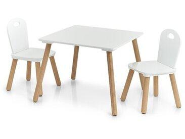 3-tlg. Kinder Tisch und Stuhl-Set