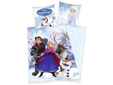 Renforcé-Wendebettwäsche Walt Disneys Die Eiskönigin