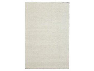 Handgefertigter Kelim-Teppich Kraus in Weiß