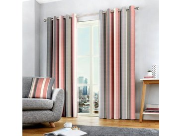 Vorhang-Set Ashlei mit Ösen, blickdicht