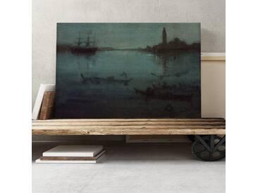 Leinwandbild The Lagoon Venice von James Abbott McNeill Whistler