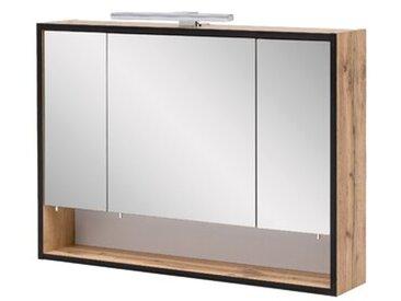 80 cm x 65,6 cm wandmontierter Spiegelschrank Mcchesney