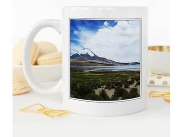 Kaffeetasse Landscape Chile Volcano 2