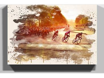 Leinwandbild Radrennen Tour de France